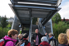DSC_0341 Slobodan predstavlja moderen most čez Ljubljanico